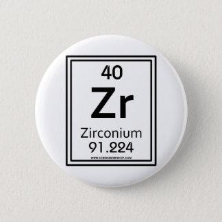 40 Zirconium 2 Inch Round Button