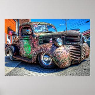 40's Dodge Rat Truck Poster
