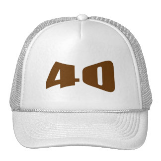 40th Anniversary Invitation Trucker Hat