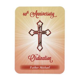 40th Anniversary of Ordination,  Award, Magnet