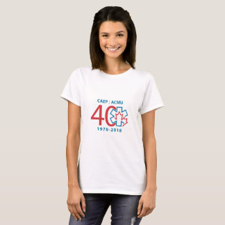 40th Anniversary women's t-shirt