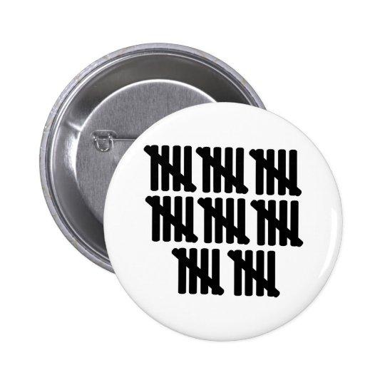 40th birthday 2 inch round button