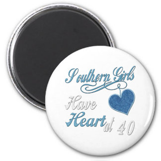 40th Birthday Gifts 2 Inch Round Magnet