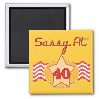40th Birthday Gifts Fridge Magnets