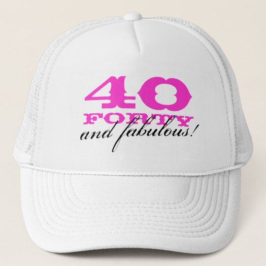 eeecd732eb6 40th Birthday hat