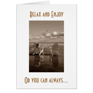 40th BIRTHDAY HUMOR-RELAX-PARTY LIKE NO TOMORROW Card