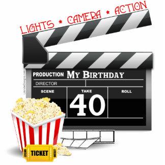 40th Birthday Movie Birthday Party Photo Cutout
