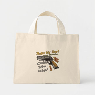 40th Birthday T-shirts and Gifts Mini Tote Bag