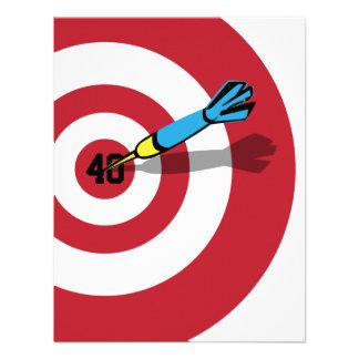 40th Birthday - Target Bullseye Invitation