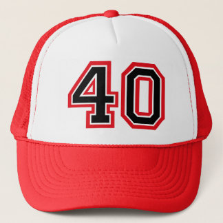 40th Birthday Trucker Hat