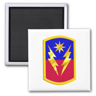 40th Infantry Brigade Combat Team Square Magnet