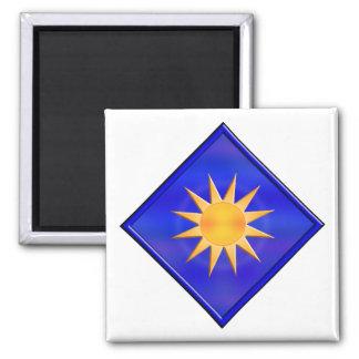 40th Infantry Division Fridge Magnet
