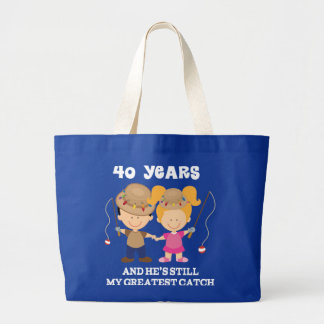 40th Wedding Anniversary Funny Gift For Her Canvas Bag