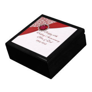 40th Wedding Anniversary Gift Box