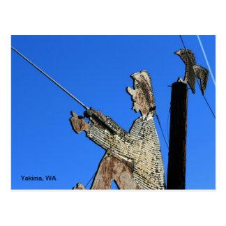 410 restaurant- Yakima, WA Postcard