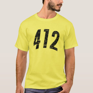 412 (Area Code) T-shirt