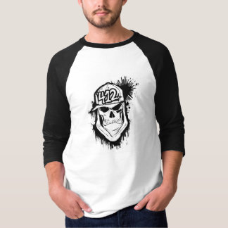 412 Pittsburgh Skull Soldier T-shirt