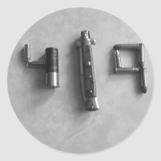 419 Tools Classic Round Sticker