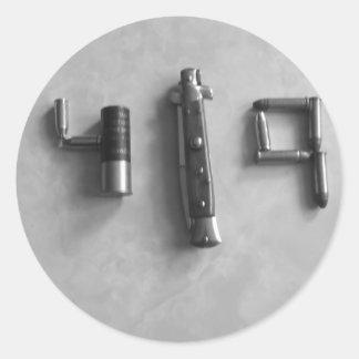 419 Tools Round Sticker