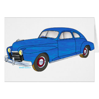 41 Oldsmobile Series 76 Card