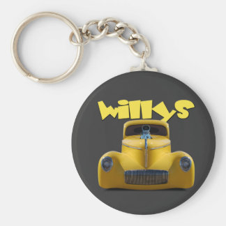 41 willys coupe keychain
