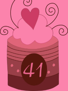 41st Birthday Gift Ideas For Her T Shirt