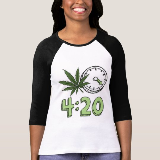 420-UK - 420 TIME T-Shirt