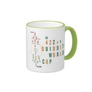 422nd Coupe du monde de Quidditch avec des joueurs Mug Ringer