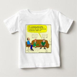 426 I communicate Cartoon Baby T-Shirt