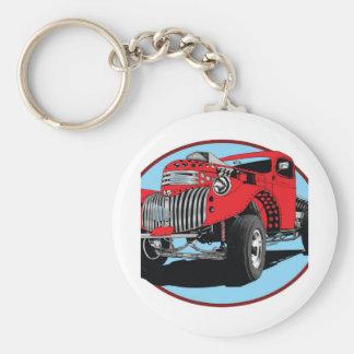 42 Chevy Pick Up Basic Round Button Keychain