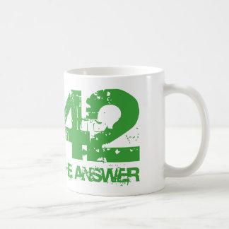 42 Is The Answer Mug
