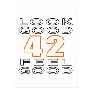 42 Look Good Feel Good Postcard