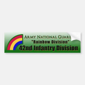 42nd Infantry Division Bumper Sticker