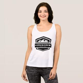 42RunCrew Womens Basic Running Vest Tank Top