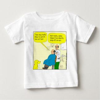 437 snip an ear off - barber cartoon t-shirt