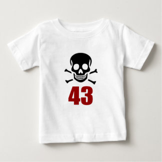 43 Birthday Designs Baby T-Shirt
