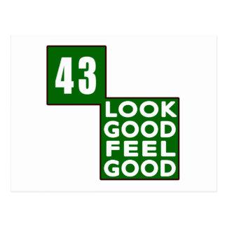 43 Look Good Feel Good Postcard