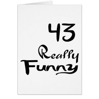 43 Really Funny Birthday Designs Card