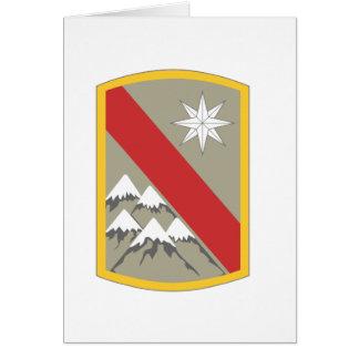 43rd Sustainment Brigade Insignia Cards
