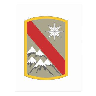 43rd Sustainment Brigade Insignia Postcards