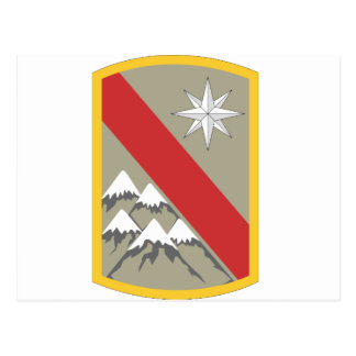 43rd Sustainment Brigade Postcard