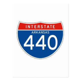 440-Interstate Sign 440 - Arkansas Postcard