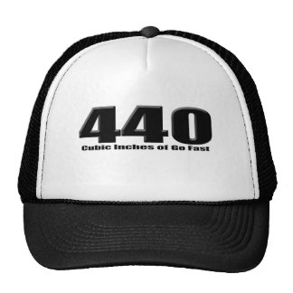 440 mopar six pack monster trucker hat