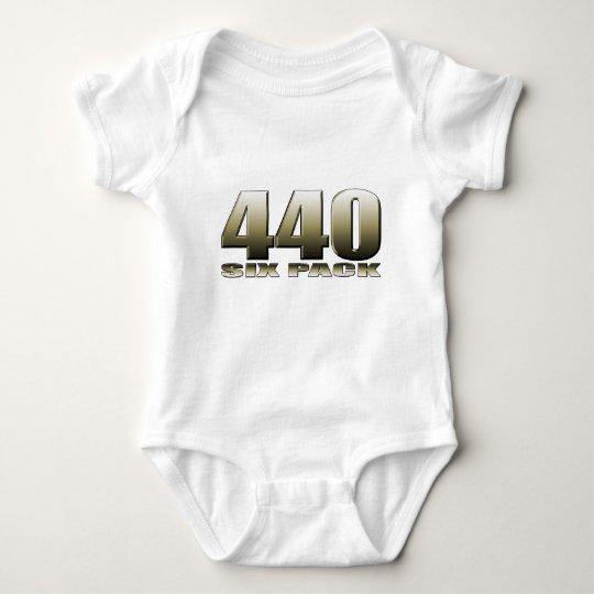 440 six pack Mopar Dodge Baby Bodysuit