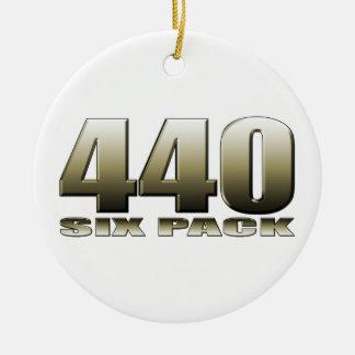 440 six pack Mopar Dodge Ceramic Ornament