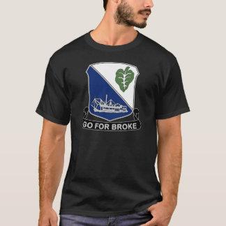 442nd Infantry Regiment - Go For Broke T-Shirt