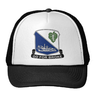 442nd Infantry Regiment - Go For Broke Trucker Hat