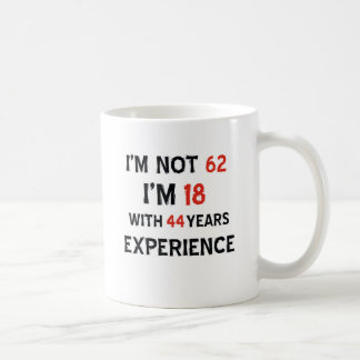 44 birthday design coffee mug