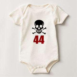 44 Birthday Designs Baby Bodysuit