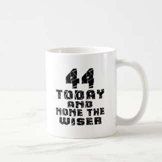 44 Today And None The Wiser Coffee Mug